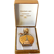 Mini Corday Toujours Moi Perfume Bottle In Box Paris
