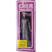 "1976 Cher Doll In Bob Mackie ""Starlight""  Gown Original Box"