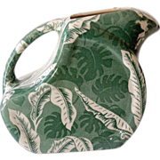 Wallace China Restaurantware Green Shadowleaf Water Pitcher