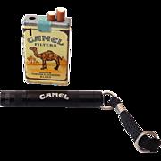 (2) Camel Cigarettes Advertising Promotions Lighter Flashlight
