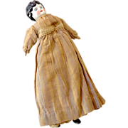 Late 1800s China Head Doll Original Clothes