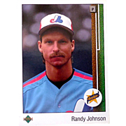 1989 Randy Johnson Rookie Card Upper Deck #25