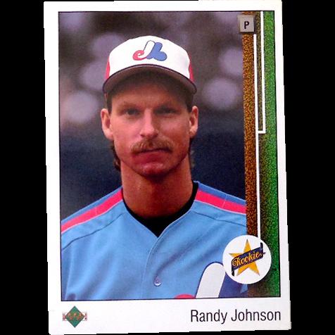 1989 Randy Johnson Rookie Card Upper Deck #25