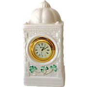 Belleek Mantle or Dresser Top Clock