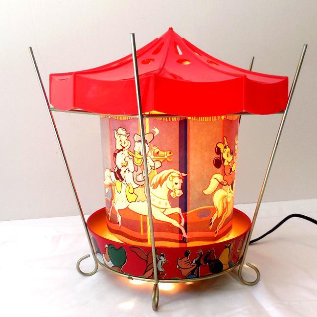 1955 Econolite Motion Lamp Disneyland Carousel Sold On
