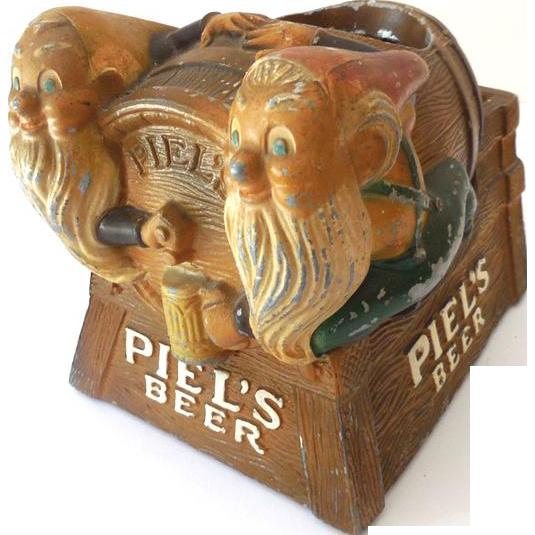 1950s Piel's Beer METAL Store Display