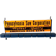 "Vintage Hardware Store Display ""Pennsylvania Saw Corporation"""