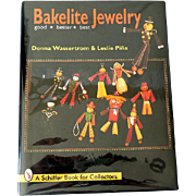 Large Hardcover Collectors Book Table Book Bakelite Jewelry