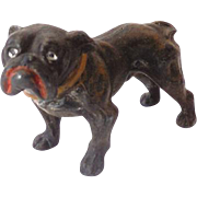 Small Vintage Metal Bull Dog
