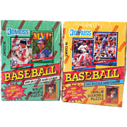 (2) Sealed Boxes1991 Donruss Baseball Cards Series 1&2