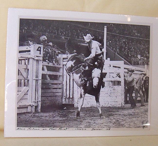 Original 1958 Rodeo Cowboy Photograph 8X10
