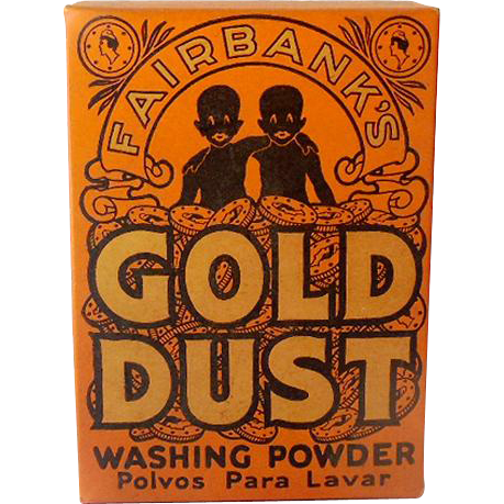 1930s Unopened Sample Size Gold Dust Washing Powder Black Americana