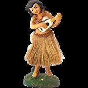 Vintage 1940s-1950's Hawaiian Hula Girl Nodder Bobber