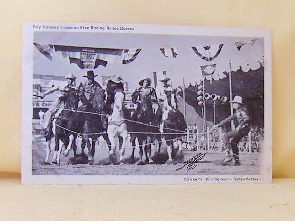 RPPC Rodeo Cowboy Ray Ramsey Stryker