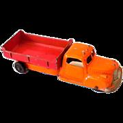 1940s Tootsietoy Die Cast Metal Dump Truck