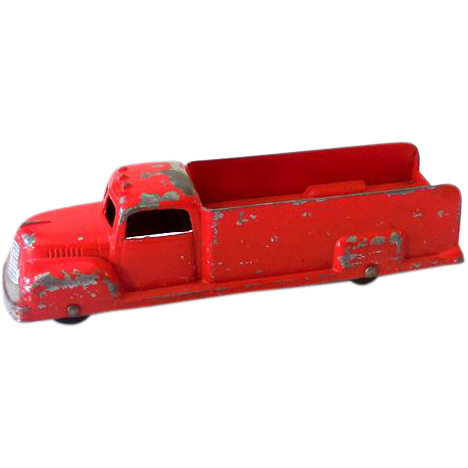 1940s Tootsietoy Die Cast Metal Toy Utility Truck