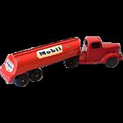 1950s-60s Tootsietoy Die Cast Metal Mobile Oil Tanker Truck