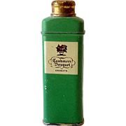 1930s Sample Tin Cashmere Bouquet Talcum Powder