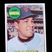 1969 Topps Baseball Card # 370 Juan Marichal