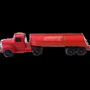 1950s Tootsietoy Die Cast Metal  Oil Tanker Truck
