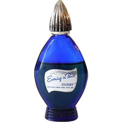 Vintage Bourjois Evening In Paris Cologne 05 Oz 2 3 Full