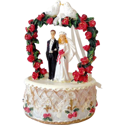 How To Clean Plastic Wedding Cake Topper