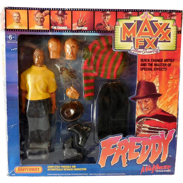 1989 Freddy Krueger Doll Set In Original Box Nightmare on Elm Street