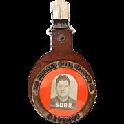 Large Employee Photo ID Badge Midland Steel Detroit