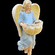 Lovely Porcelain Angel Holy Water Font