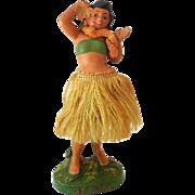 Unusual Vintage Hawaiian Hula Girl Nodder Bobber