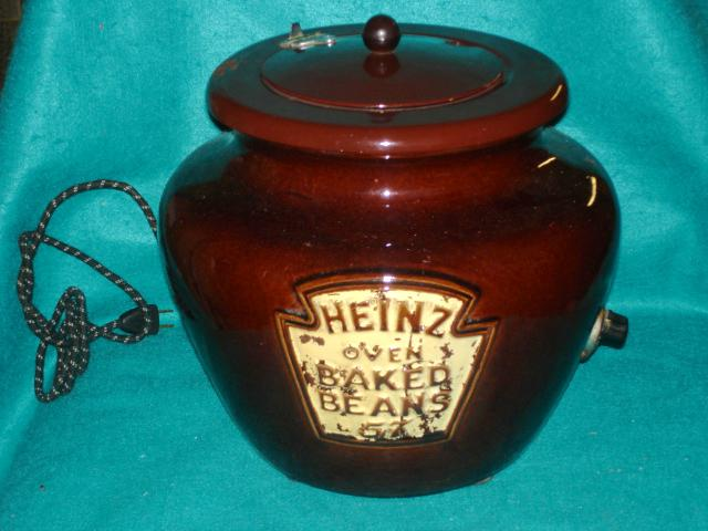 1950's Heavy Pottery Heinz Advertising Bean Pot