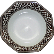 "3 Vintage Royal Staffordshire Ironstone Bowls in ""Wicker"" Pattern by J & G Meakin"