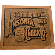 Ansonia Clock Catalog 1886/7: Reprint from 1968