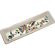 Aynsley Porcelain Pencil Holder or Pin Dish