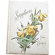 """Sapphires From Burns"", a Book of Robert Burns"" Poems with Wonderful Illustrations"