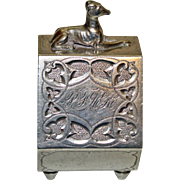 Sterling American Ring with Dog c.1875