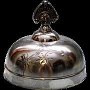 Small Antique Silverplate Dome