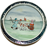 Child's Bowl (Dutch Scene) with Goat Pulling Cart