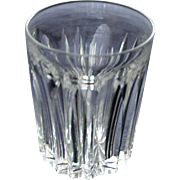 Signed Hawkes Cut Glass Shot Glass, American Brilliant Period