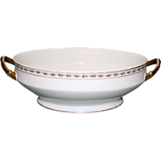 Vintage Limoges Oval Vegetable Bowl for Higgins & Seiter