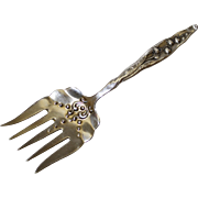 Antique Whiting Sterling Lily of the Valley Sardine Server (Sardine Fork)