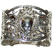 Antique English Hallmarked Sterling Napkin Ring, 1903, by A Clark Manufacturing Co.