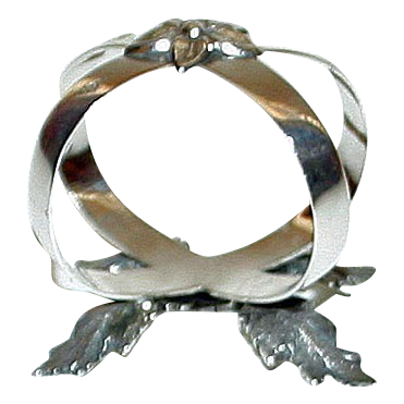 Hallmarked Sterling 1878 Napkin Ring, Sheffield, by Richard Martin and Ebenezer Hall