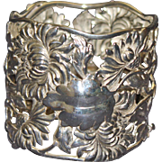 Magnificent Antique Sterling Shiebler Napkin Ring