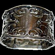 Antique English Sterling Napkin Ring 1903
