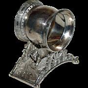 Fox Antique Figural Napkin Ring