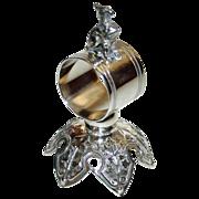 American Meriden Griffin Antique Figural Napkin Ring