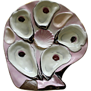 Antique Shell Shaped Oyster Plate