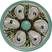 Antique Union Porcelain Works  (UPW) Oyster Plate, American