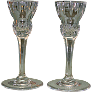 Pair of 6 Inch Marquis Candlesticks by Waterford